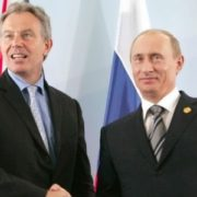 Vladimir Putin and Tony Blair