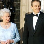 Queen Elizabeth and Tony Blair