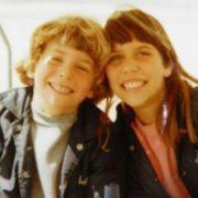 Bradley Cooper in his childhood