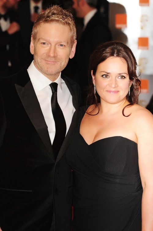 Lindsay Brannock and Kenneth Branagh