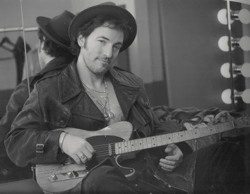 Bruce Springsteen - rock and folk musician
