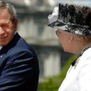 George W. Bush and Elizabeth II