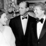 Jimmy Carter and Elizabeth II