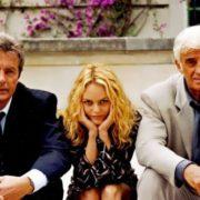 Alain Delon, Vanessa Paradis and Jean-Paul Belmondo