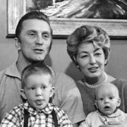 Kirk Douglas and Anne Buydens