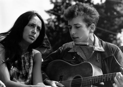 Dylan and Joan Baez
