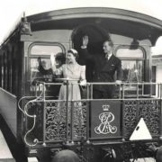 Elizabeth II and her husband Philip