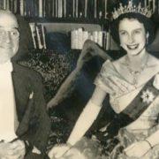 Princess Elizabeth and Harry Truman