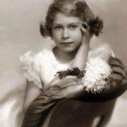 Elizabeth II in her childhood