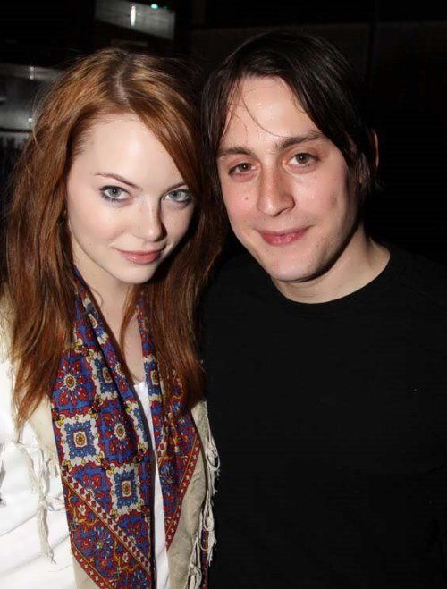 Emma Stone and Kieran Culkin