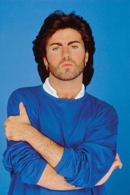 George Michael - successful pop singer