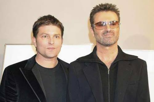 Kenny Goss and George Michael