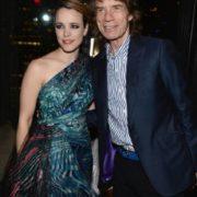 Mick Jagger and Rachel McAdams