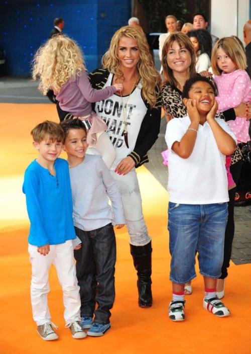 Katie Price and her children