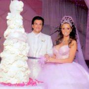 Katie Price at her wedding