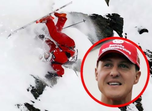 Michael Schumacher accdent