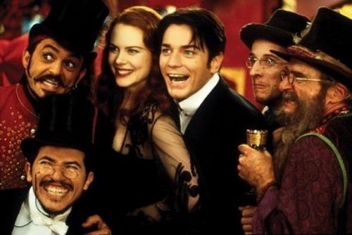 Nicole Kidman in the film Moulin Rouge