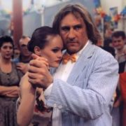 Vanessa and Gerard Depardieu