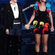 Rihanna and Ellen DeGeneres