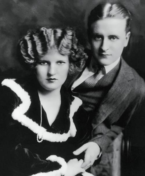 Scott Fitzgerald and his wife Zelda