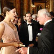 Irina Shayk at Buckingham Palace