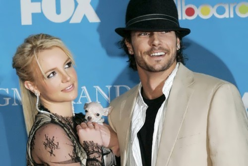 Spears and her second husband Kevin Federline
