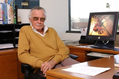 Stan Lee - famous American writer