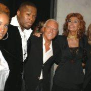 Olivia, 50 cent, Giorgio Armani, Sophia Loren, Tina Turner