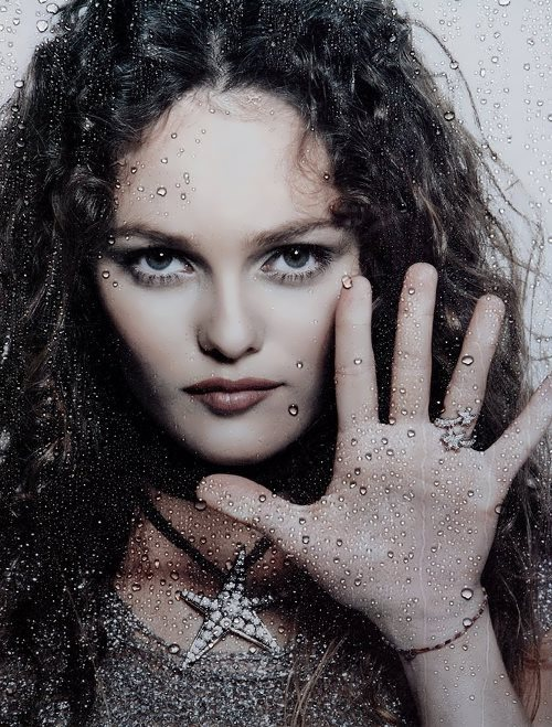 Vanessa Paradis - French actress and singer