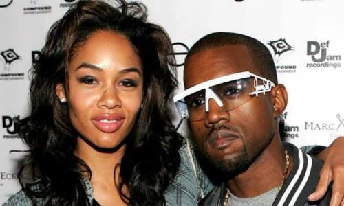 Alexis Phifer and Kanye West