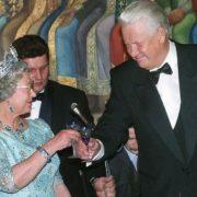 Boris Yeltsin and Elizabeth II