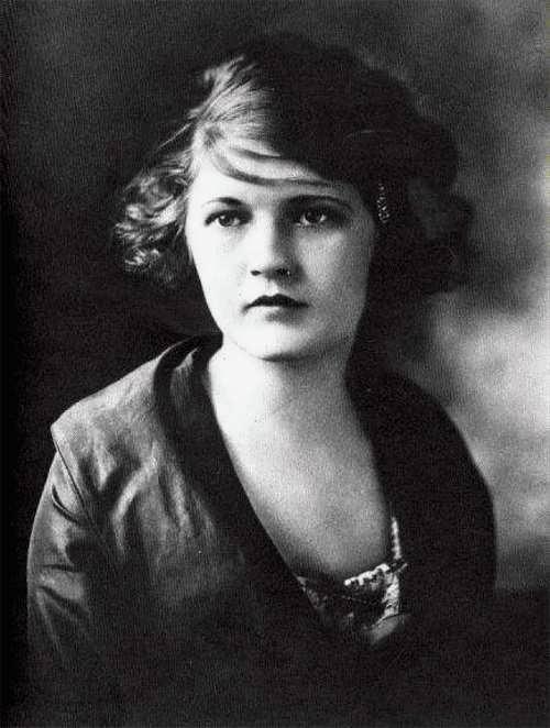 Zelda Fitzgerald - American writer