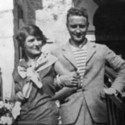 Zelda and Scott Fitzgerald