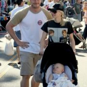 Anna Faris, her husband Chris Pratt and their son