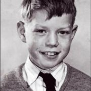 Mick Jagger in his childhood
