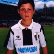 Ronaldo in his childhood