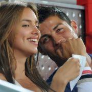 Ronaldo and Irina Shayk