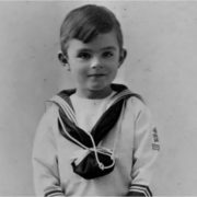 Alan Turing in his childhood