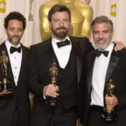 Grant Heslov, Ben Affleck and George Clooney