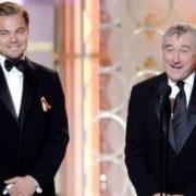 Danny DeVito and DiCaprio