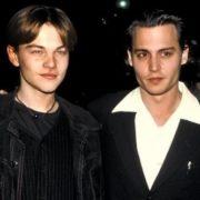 Johnny Depp and DiCaprio