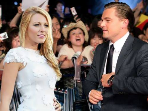 Blake Lively and Leonardo