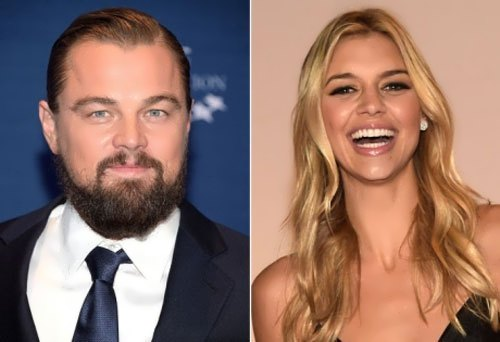 Kelly Rohrbach and DiCaprio