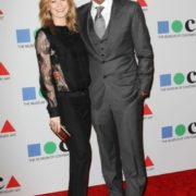 Ellen Pompeo with her husband Chris Ivery
