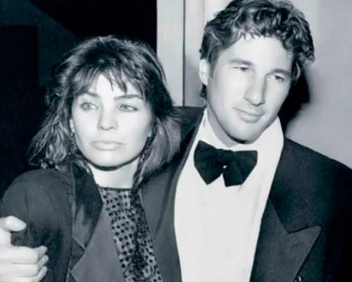 Sylvia Martins and Richard Gere