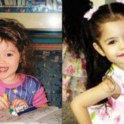 Selena Gomez in her childhood