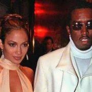 Puff Daddy and Jennifer Lopez