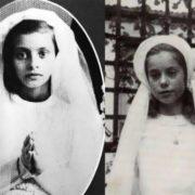 Sophia Loren in her childhood