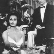 Sophie Loren and Marlon Brando
