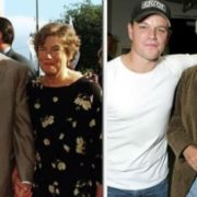 Matt Damon and his parents